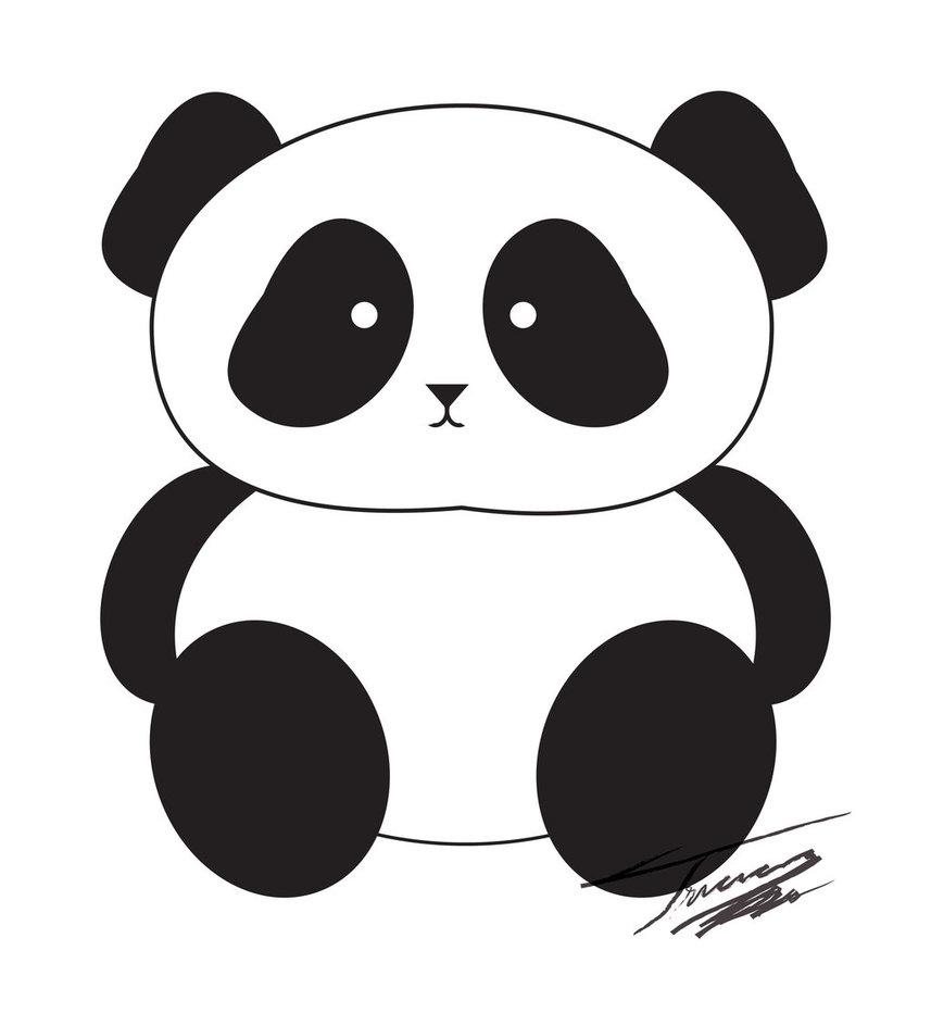 free panda clipart #2
