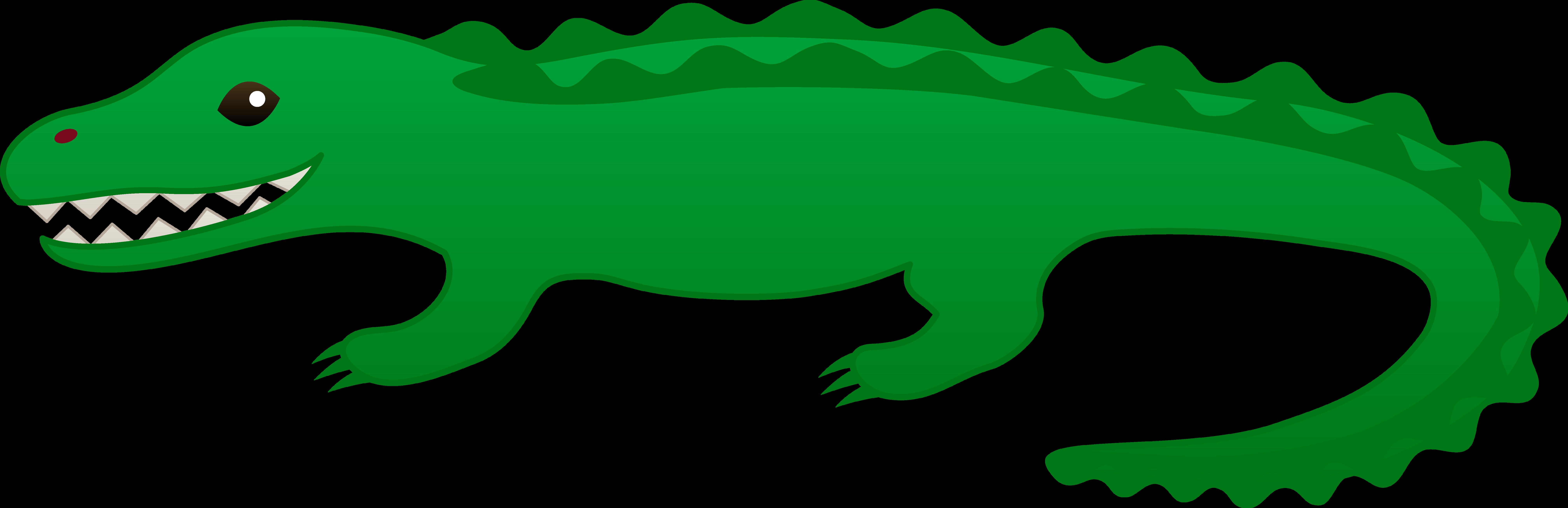 Showing post & media for Cartoon green alligator.