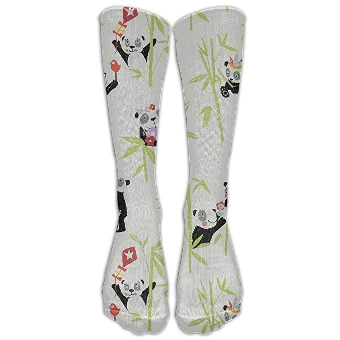 Amazon.com: High Boots Crew Panda Clipart Compression Socks.