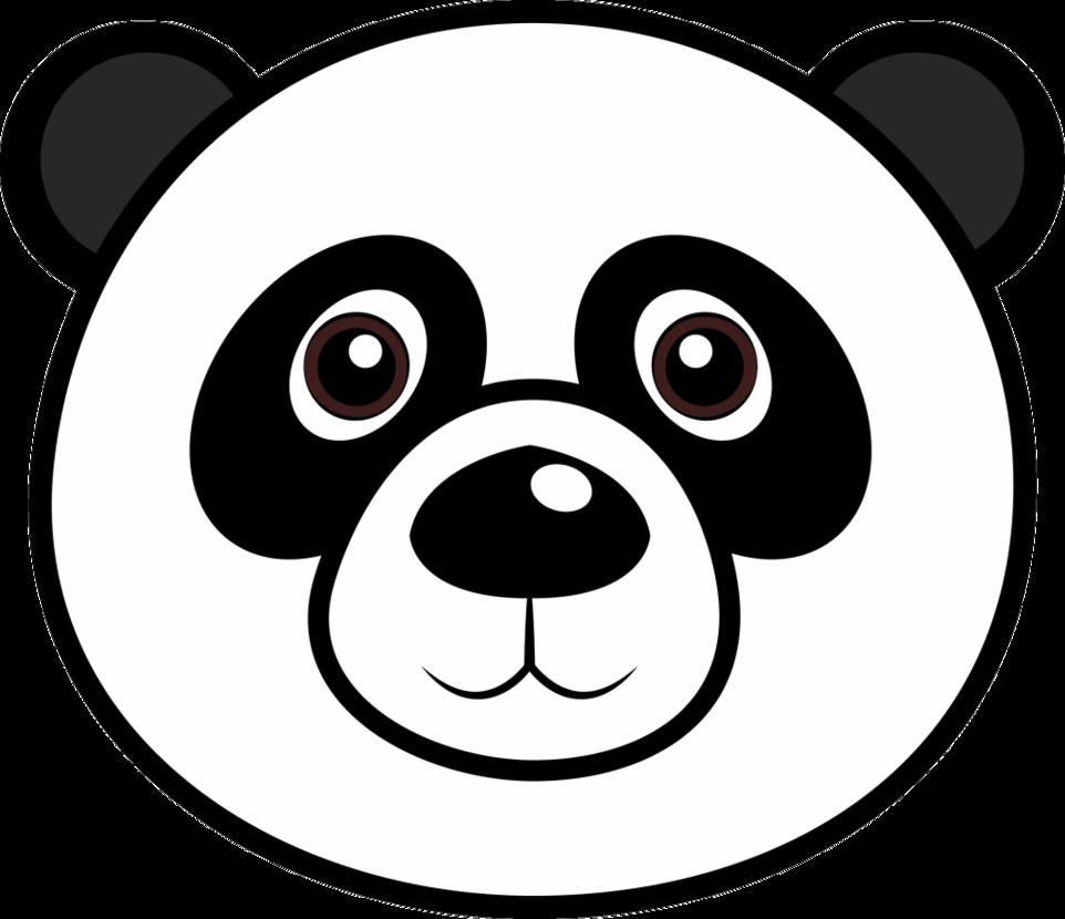panda clipart face - Clipground - photo#3