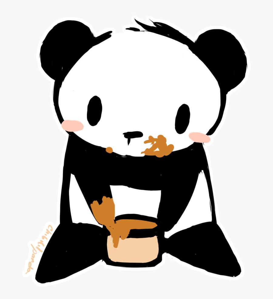 Cute Panda Anime Gif.