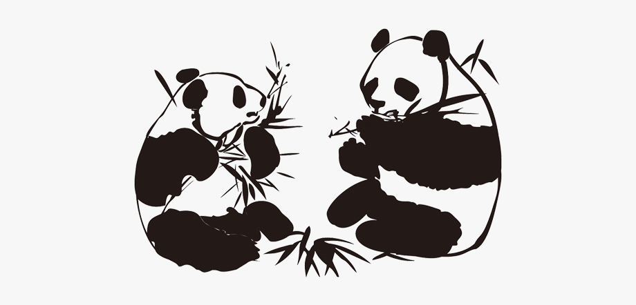 Cartoon Panda Png.