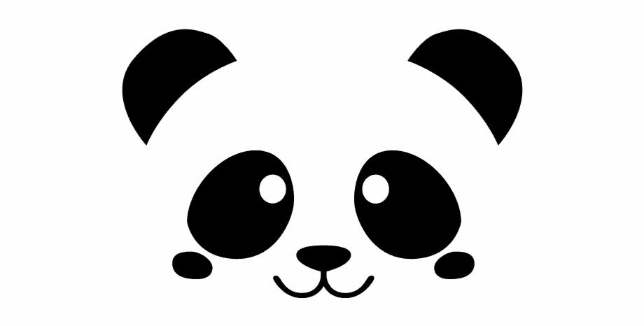 Vinilo Decorativo Infantil Panda.