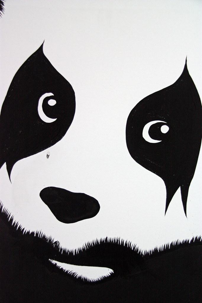 Pure Evil\'s panda eyes.