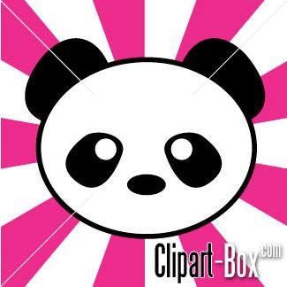 Panda clip art $2.
