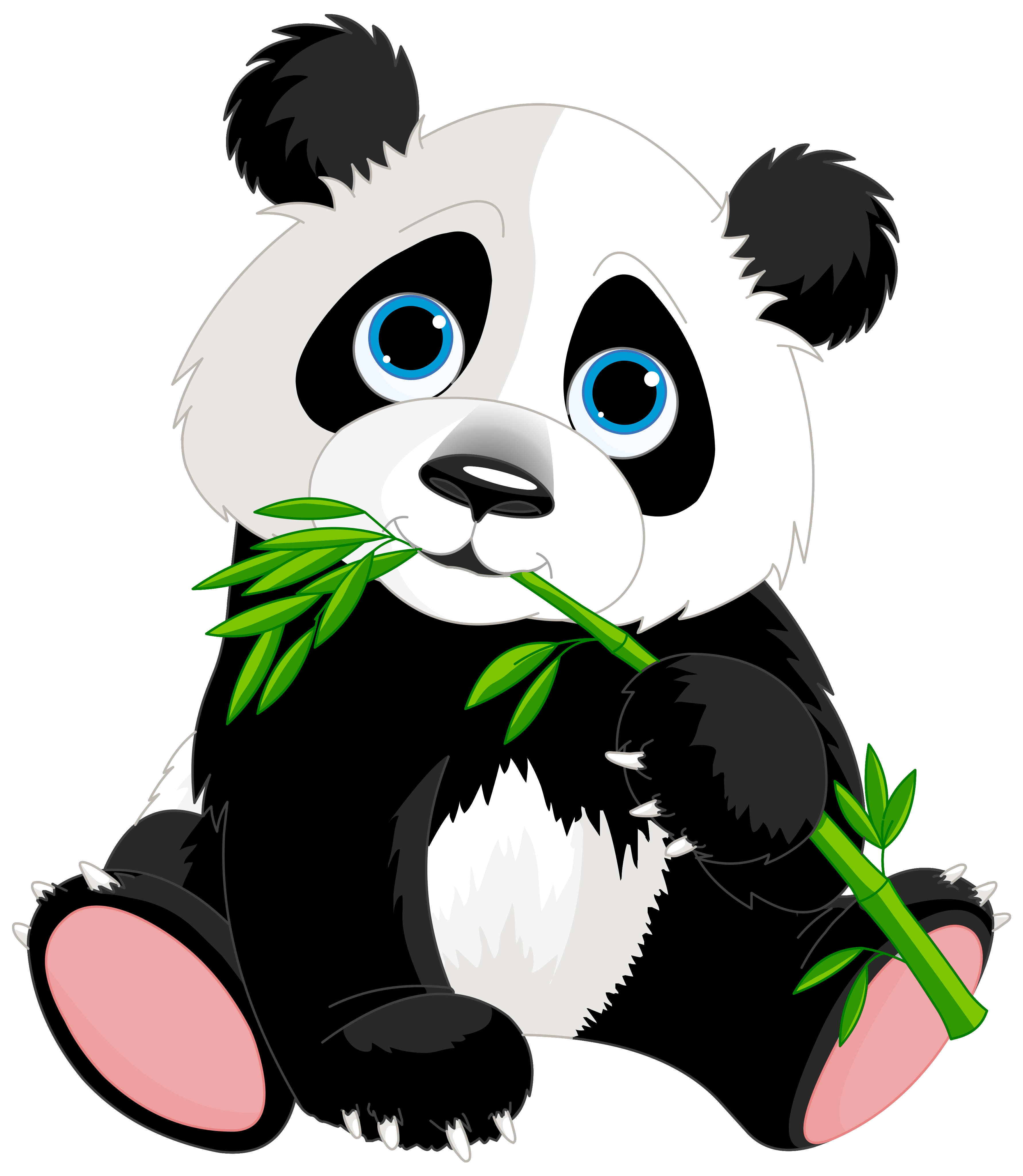 Cute panda cartoon clipart image gallery yopriceville.