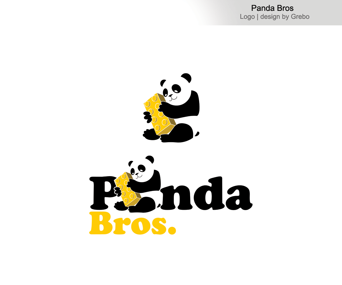 Playful, Modern, It Company Logo Design for Panda Bros by.