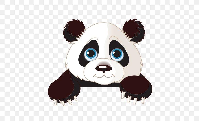 Giant Panda Clip Art, PNG, 500x500px, Giant Panda, Bear.
