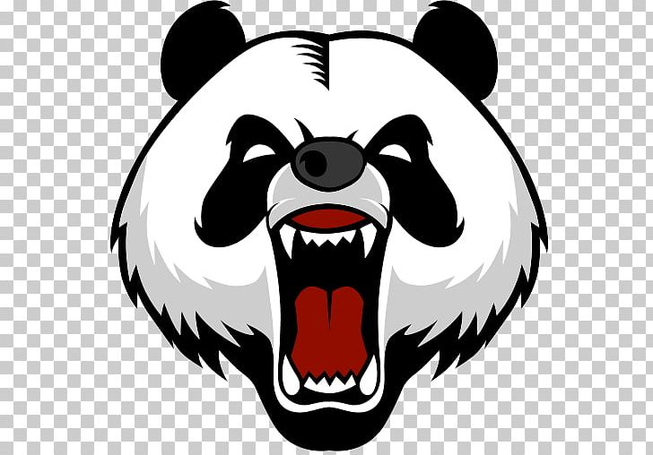 Giant Panda Bear Logo Decal PNG, Clipart, Animals, Artwork.