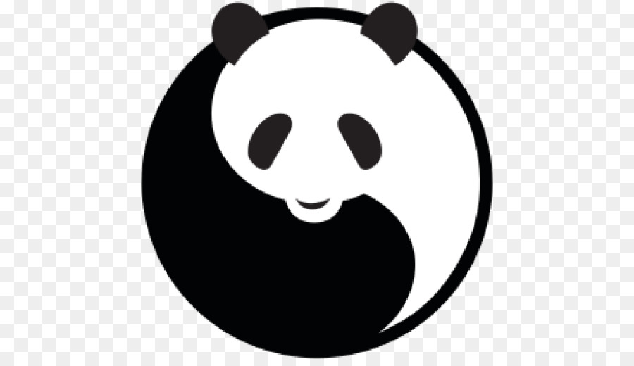 Giant Panda Bear Logo Sunglasses Brand.