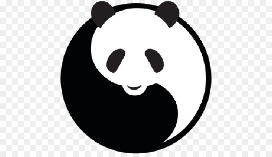 Giant Panda Bear Logo Sunglasses Brand.