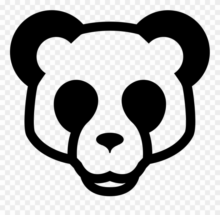 Bear Face Png.