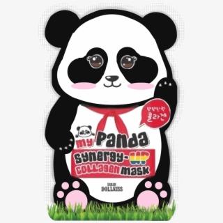 Urban Dollkiss Panda Mask , Transparent Cartoon, Free.