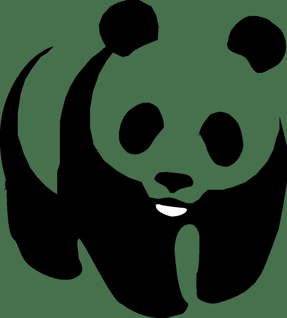 WWF Panda transparent PNG.