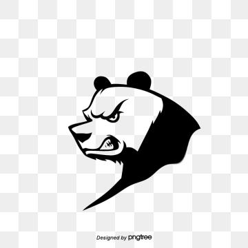 Panda Vector, Free Download Panda cartoon, Panda avatar.
