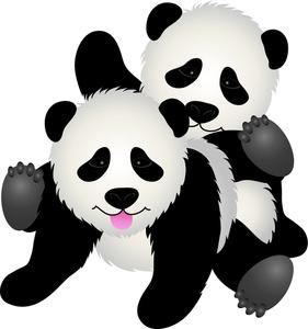 This pandas clip art image is.