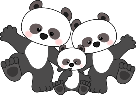 Free Panda Clipart Pictures.