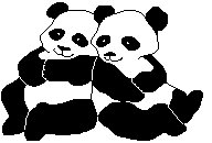Free Pandas Clipart.