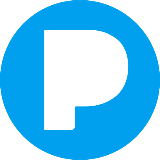 Circle, music, pandora, round icon icon.