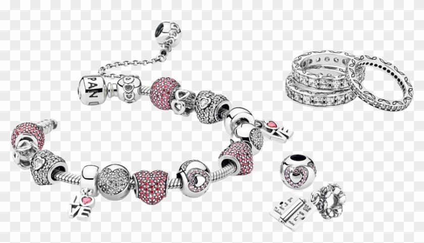 Pandora Love Charm Bracelet.