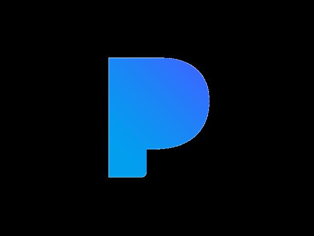 Pandora logo.