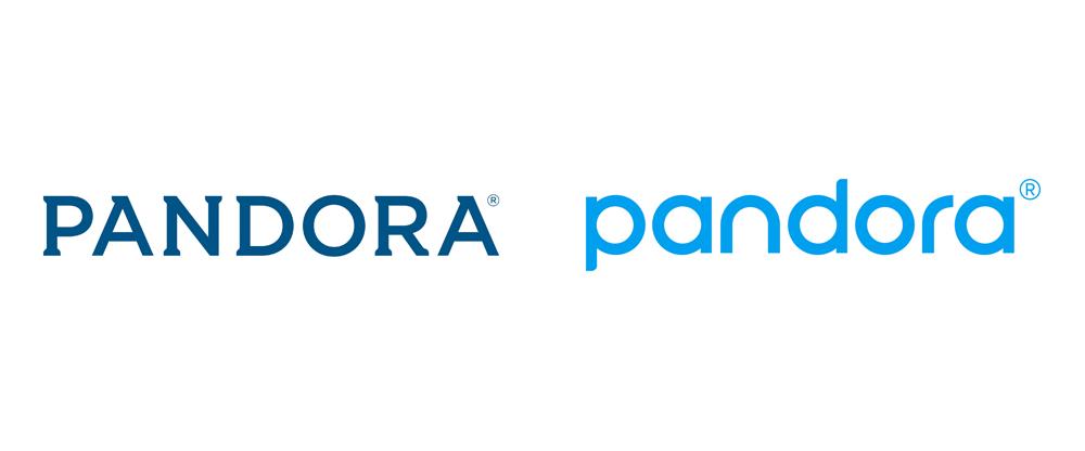 Brand New: New Logo and Identity for Pandora.
