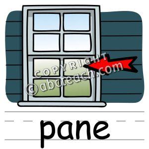 Window pane clip art.