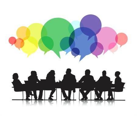 Politician clipart panel discussion.