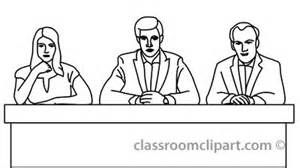panel of judges clipart #2
