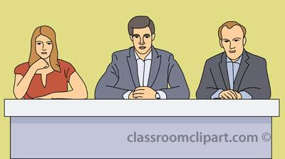 Panel of Judges Clipart (32+).