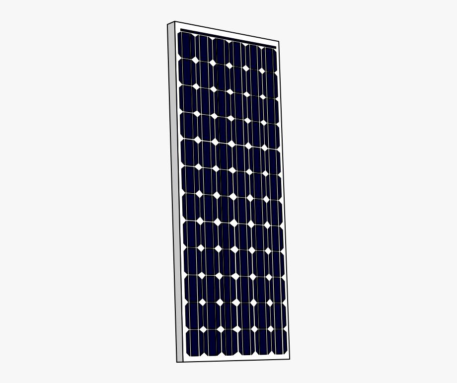 Solar Panel Clip Art Solar Power Also Known As Clean.