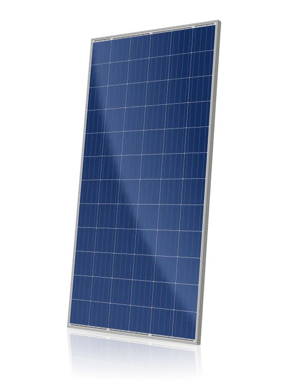 Placa Solar Canadian policristalina.