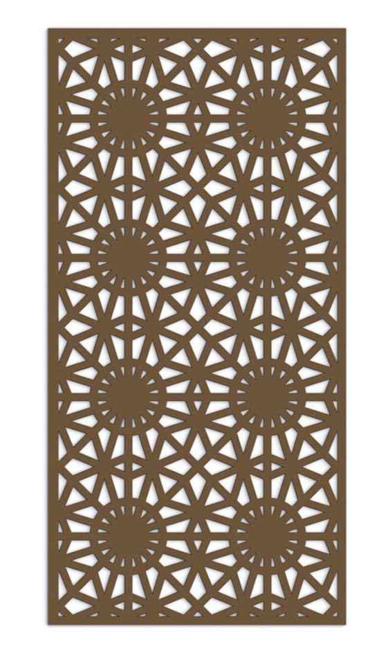 fretwork panels.