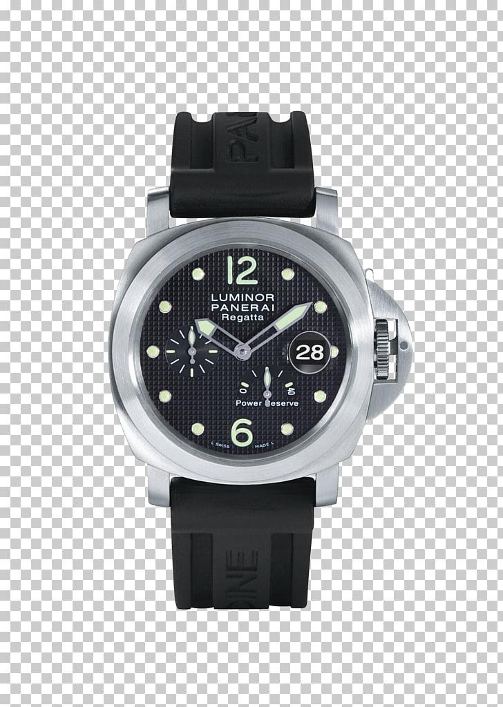 Diving watch Panerai Rolex GMT Master II Power reserve.