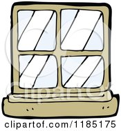 Clipart of a Pink Window.