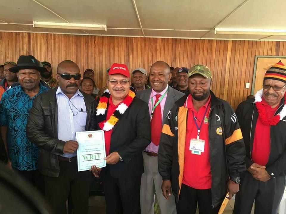 PNG PM O\'Neill retains Ialibu.