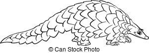 Pangolin Illustrations and Clip Art. 124 Pangolin royalty free.