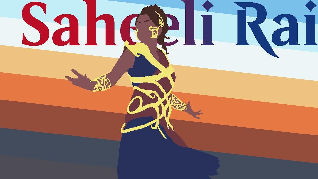Let's Paint!: Saheeli Rai from Magic: The Gathering.