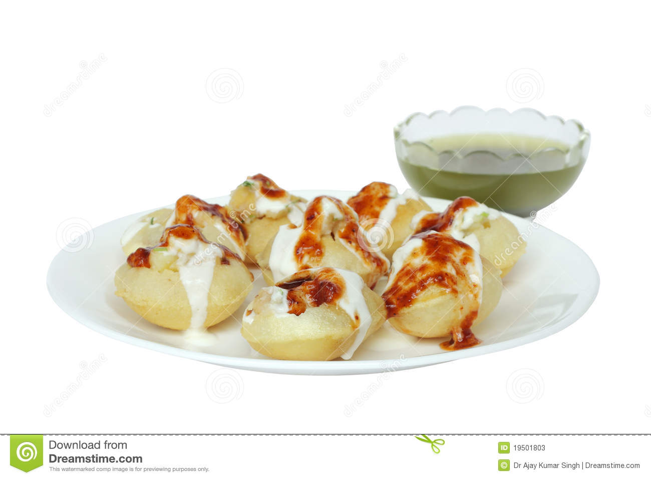 Panipuri/Golgappa Stock Photo.