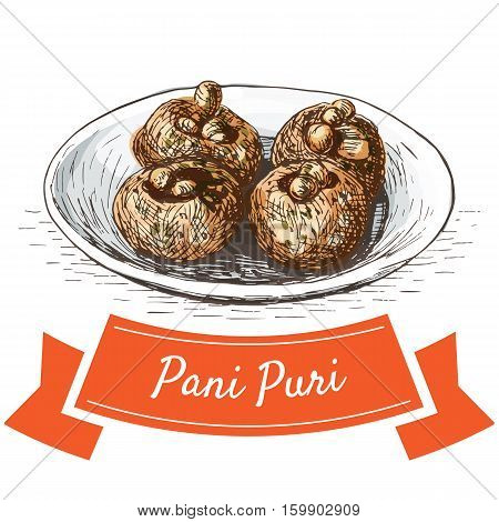 Pani Puri Images, Stock Photos & Illustrations.