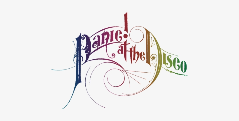 Panic At The Disco Logo.