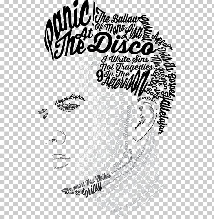 Panic! At The Disco Drawing Art This Is Gospel Pop Music PNG.