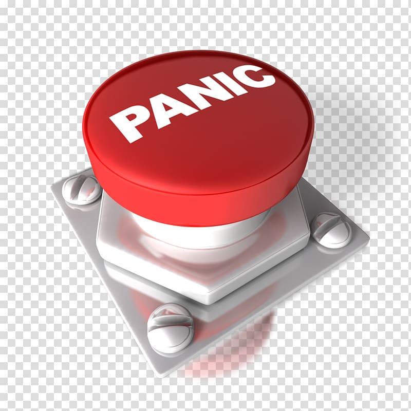 Red Panic button , Panic button Push.