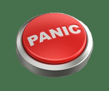 Panic Button transparent PNG.