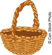 Wicker basket Illustrations and Stock Art. 2,402 Wicker basket.