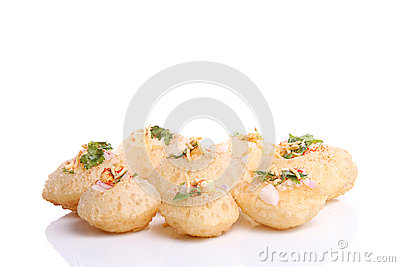 Panipuri Stuffed Tasty Snack Stock Photos, Images, & Pictures.