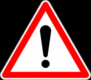 Panneau attention danger png 2 » PNG Image.