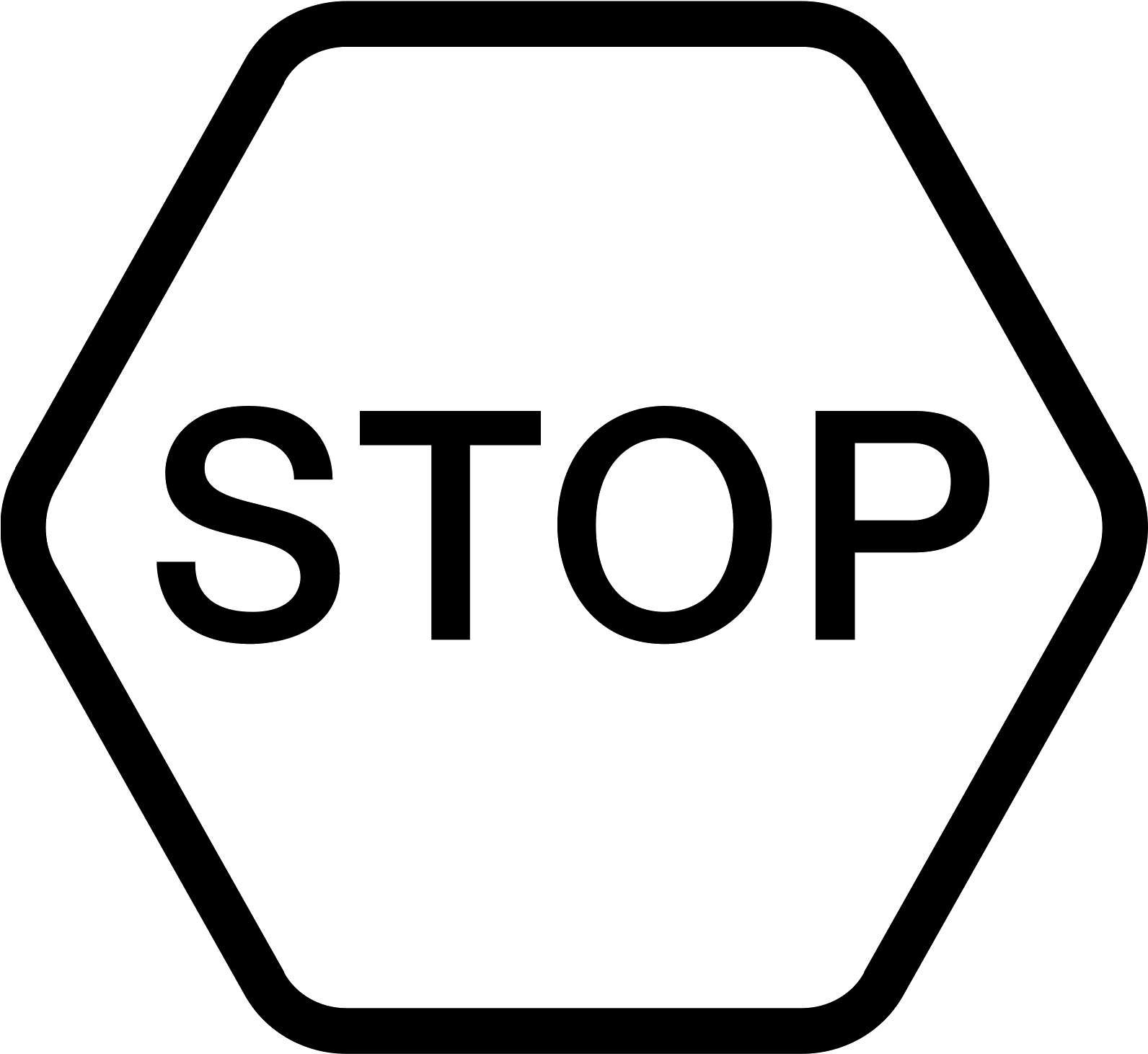 Download HD Panneau Stop Icon.