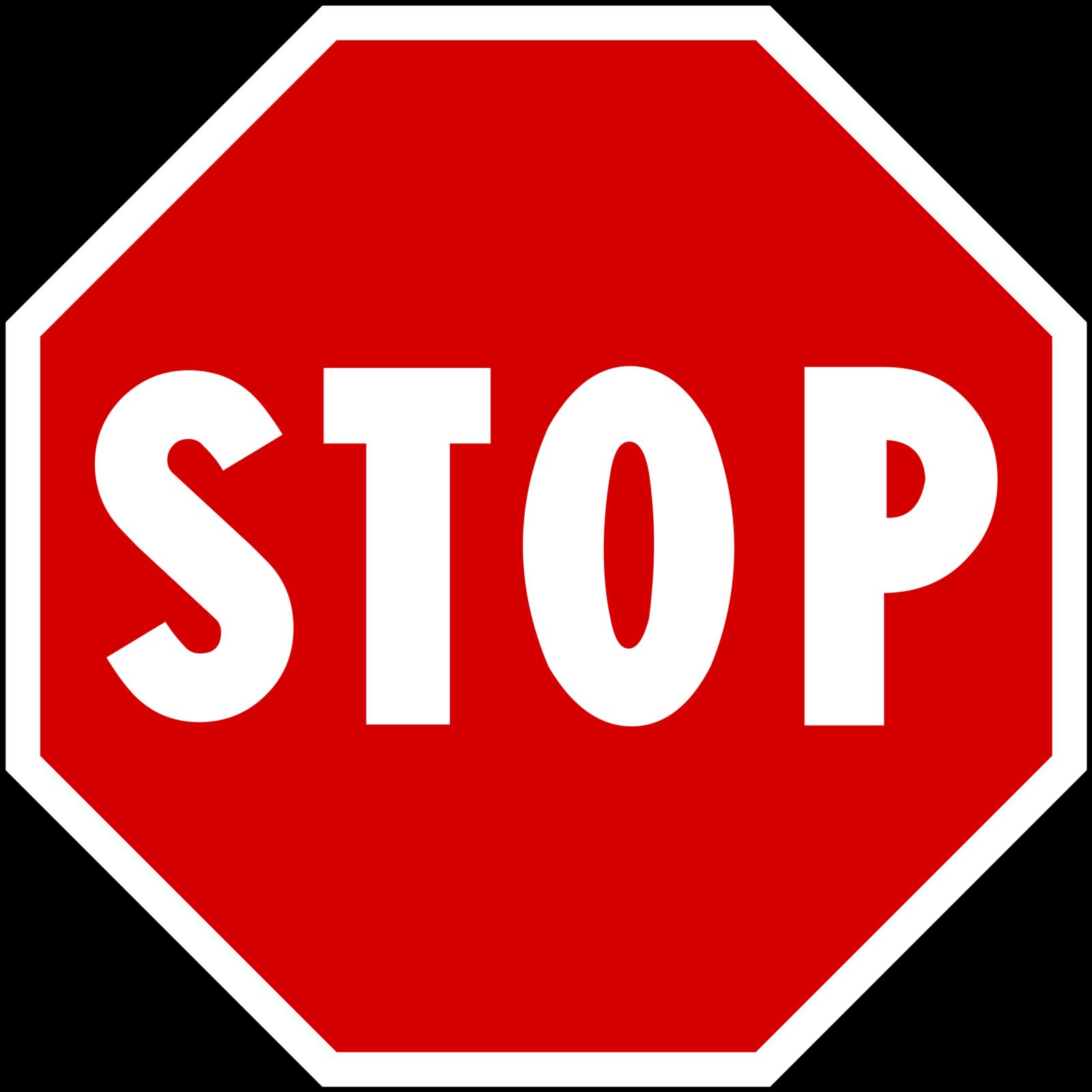 le pouvoir du STOP.