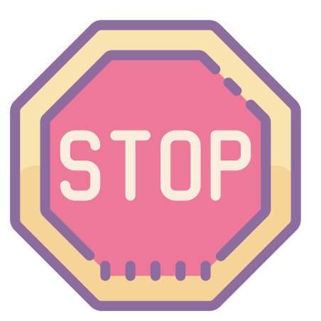 Icône Panneau stop.